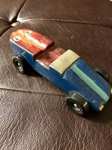 Vintage1980s PINEWOOD DERBY RACE CAR BOY SCOUTS CUB SCOUTS