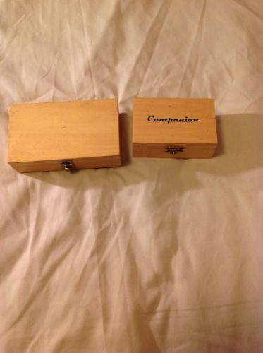 Two Small Wood Boxes with Latches