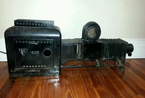 Antique Bausch & Lomb Optical Co. Lantern Slide Projector.