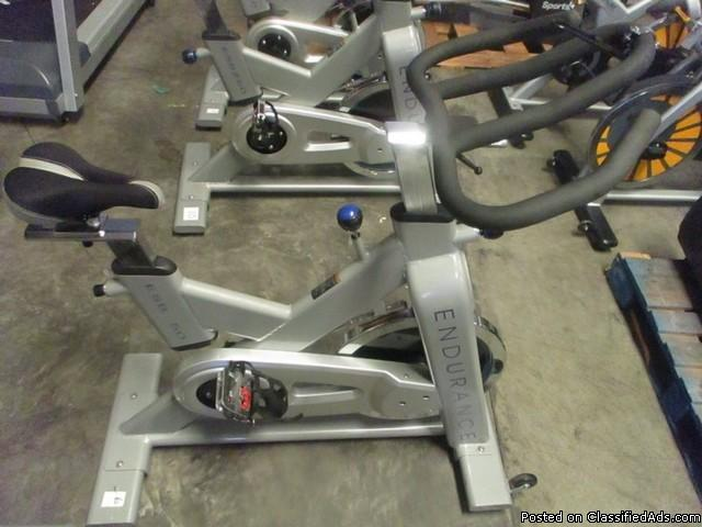 (3) Body-Solid ESB250 Endurance Spin Cycle Bike RTR# 6074770-11