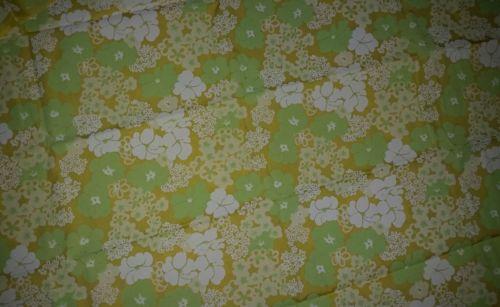 Vintage Key West Hand Print Fabrics Inc. Flower Show by Zuzek Approx 44