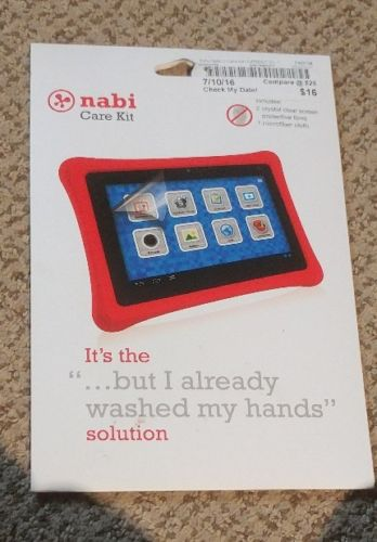 Nabi Care Kit screen protector