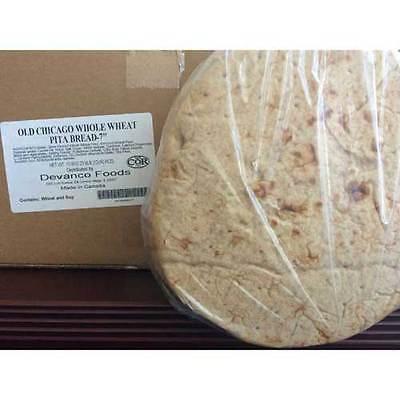 Devanco Old Chicago 7 inch Whole Wheat Pita Bread -- 120 per case.