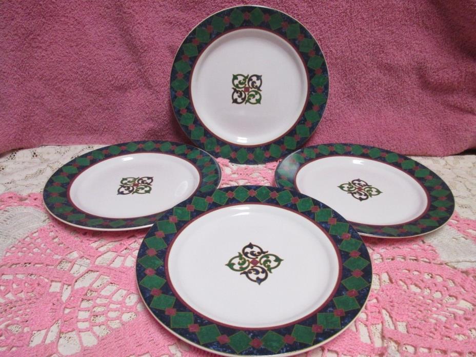 Pfaltzgraff Amalfi Classic Salad Plates Set of 4 Designed USA Pat Farrell
