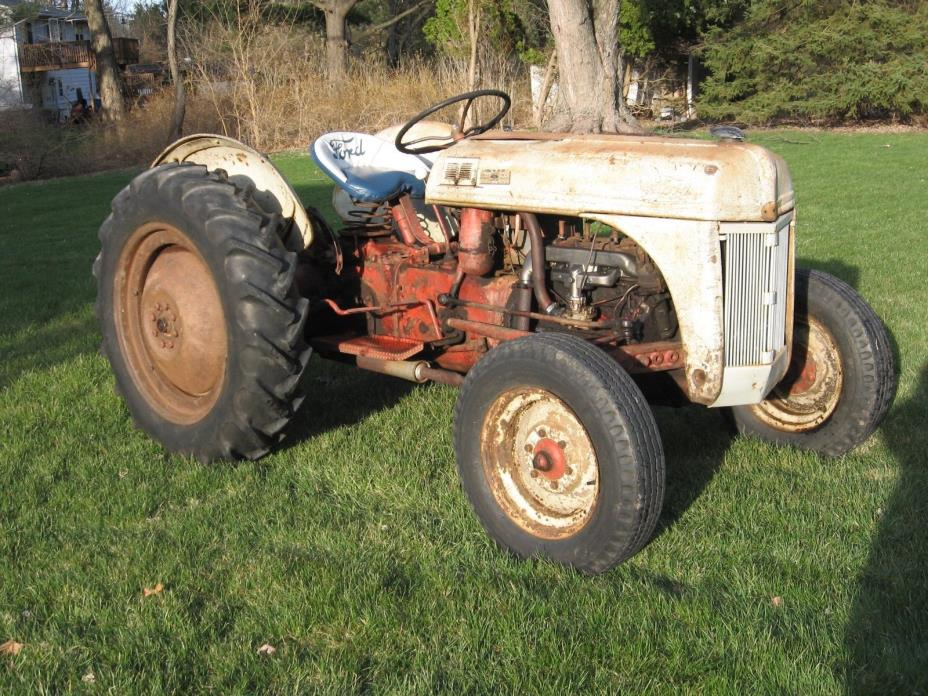 1952 8N Ford Tractor