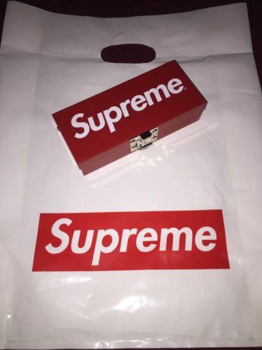 Supreme Small Metal Box