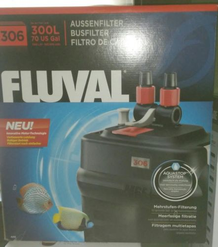 **Brand New** Fluval 306 A212 Canister Filter Aquastop System Free Shipping