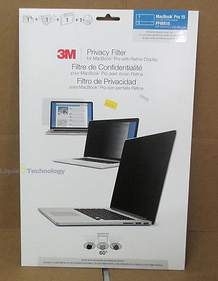 3M Pricvacy Filter for Macbook Pro 15 15.4