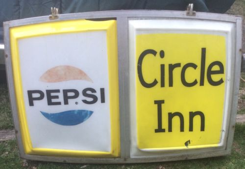 Vintage Pepsi - Circle Inn Bar - Cumberland Md Advertising Sign