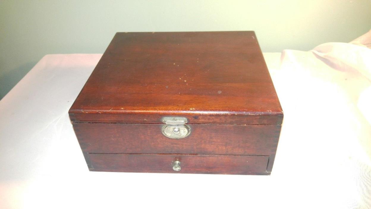 Vintage Apothecary Medicine Box with Drawer Prescription Box  Dispensary