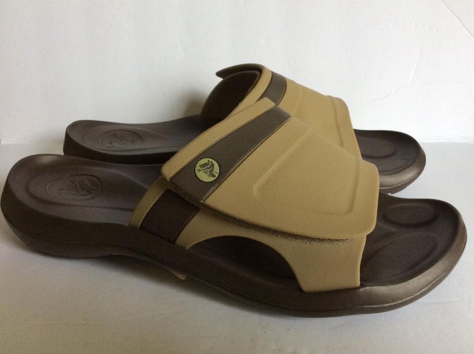 Mens Size 11 Crocs Slides Sandals Shoes NEW