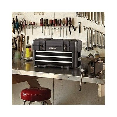 Service Technician Mechanic Handy Man Portable Tool Box Storage Waterloo