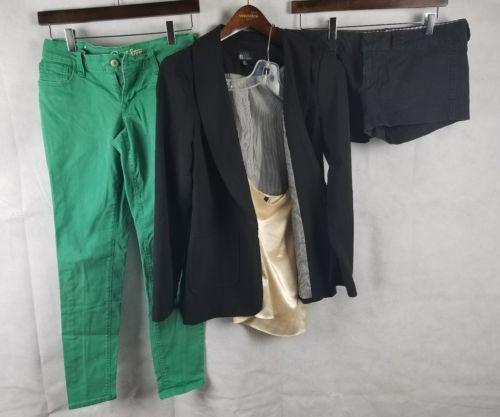 Womens Size 6 Lot Shorts Jacket Pants