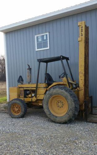 Harlo 456 Rough Terrain  Forklift