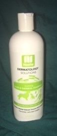 Nootie Dermatology Solutions ALOE & OATMEAL Shampoo dogs cats horses 16 oz NEW