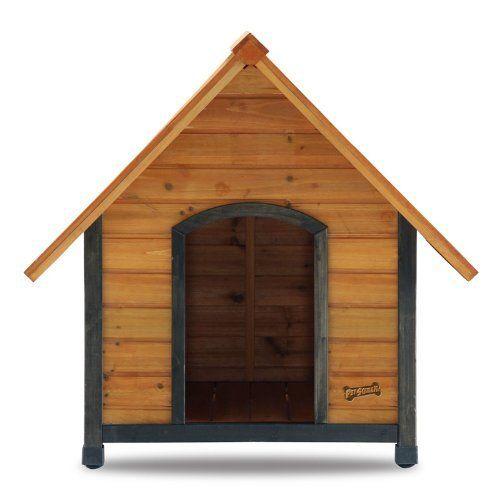 Pet Squeak Alpine Lodge Dog House for Medium Dogs