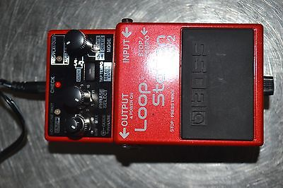 Boss Loop Station RC-2 Guitar Effects Pedal w/ Boss power Adapter