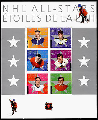 Canada 1971 Presentation Folder MNH NHL All-Stars Ice Hockey