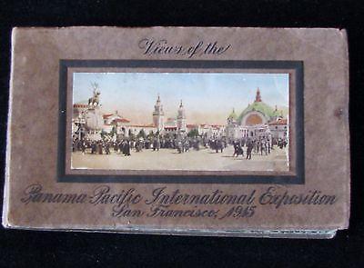 Vintage 1945 Panama Pacific Internation Exposition Souvenir Postcard Book
