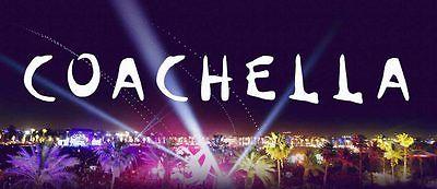 Coachella Music Festival Tickets Weekend 2, April 21-23 (Indio) w/ shuttle pass