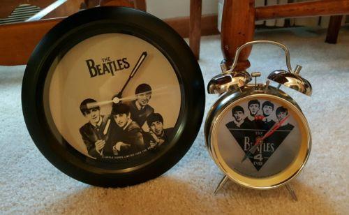 Beatles Wall Clock and Alarm Clock