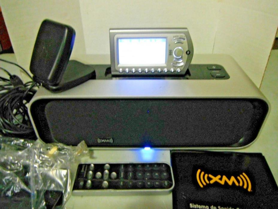 Audiovox XM XMAS100 Compact Sound System with Express XM Radio. In Original Box