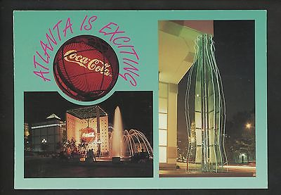Coca Cola Coke postcard Atlanta, Georgia GA greetings