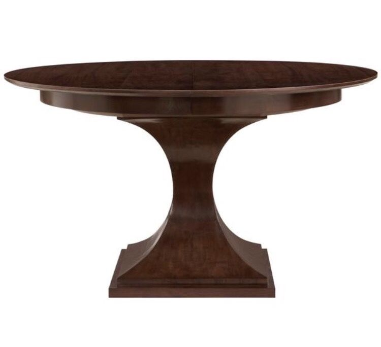 BRAND NEW:  Traditional Round Pedestal Dining Table, 54
