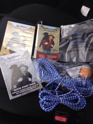 Don Sullivan's Secrets Training The Perfect Dog 2Disc DVD & Small Collar