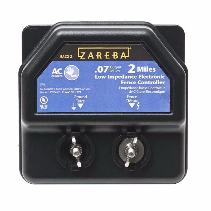 Zareba 2-Miles AC Power Line Low Impedance Electric Fence Wire System Energizer