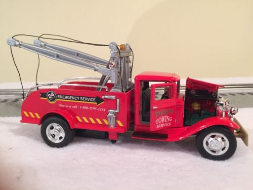 Tins Toys 1934 Ford Tow Truck BB-157 1:43 Scale Never Displayed Excellent Cond.