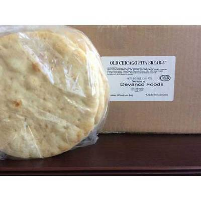 Devanco Old Chicago Pita Bread, 6 inch -- 120 per case.