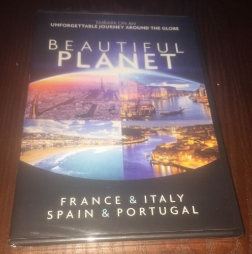 Beautiful Planet: France & Italy Spain & Portugal  (DVD, 2012) BRAND NEW SEALED