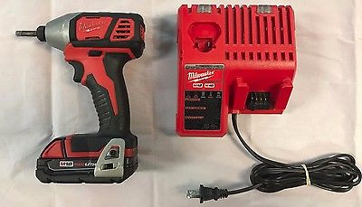 Milwaukee 2656-20 18V M18 Red Lithium Cordless 1/4
