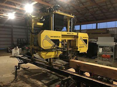 LogMaster LM6 Portable Log Saw Mill Sawmill
