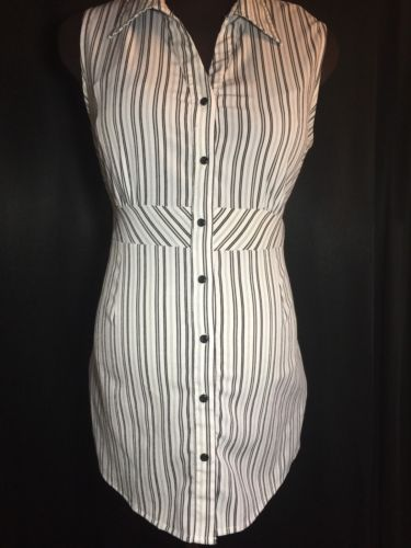 NEW MOTHERHOOD L Stretchy Striped Shirt Maternity Summer Back-Ties Blouse Top