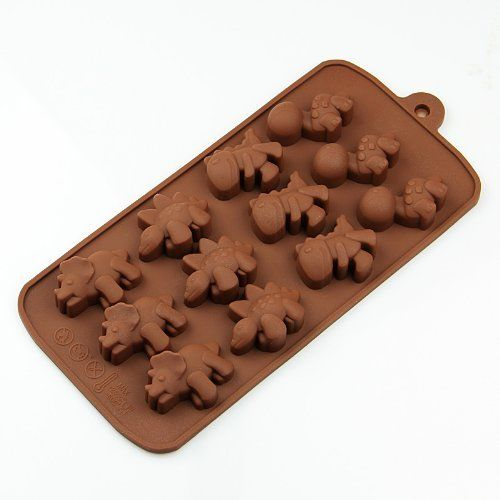 Dinosaur Jurasic Silicone Soap mold Candy Chocolate Fondant Tray mould ICE Cube