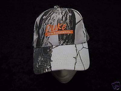 Duke Aerial Equipment Inc. Realtree Hardwoods Camo Hunting Hat