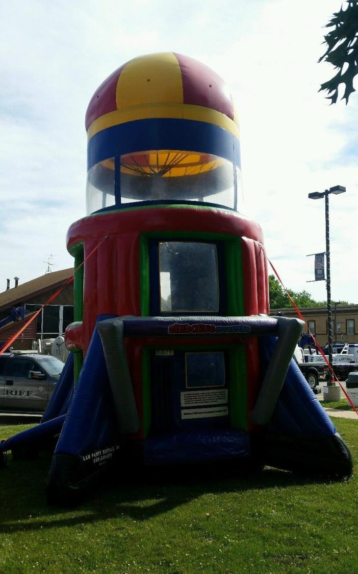 Airborne Adventure Commercial Inflatable Bounce House Moon