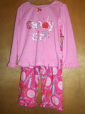 Toddler Girls Pink Sweet Treats Pajama Set    Size 2T