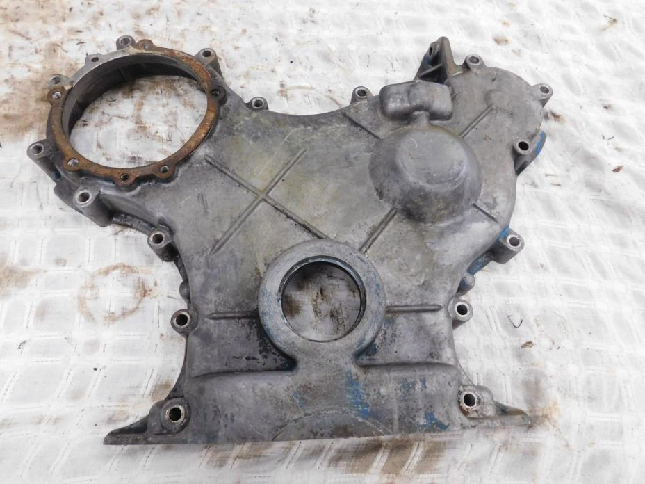 Ford 3400 Gas 3 Cylinder 158 Front Engine Cover Pulley Antique Tractor