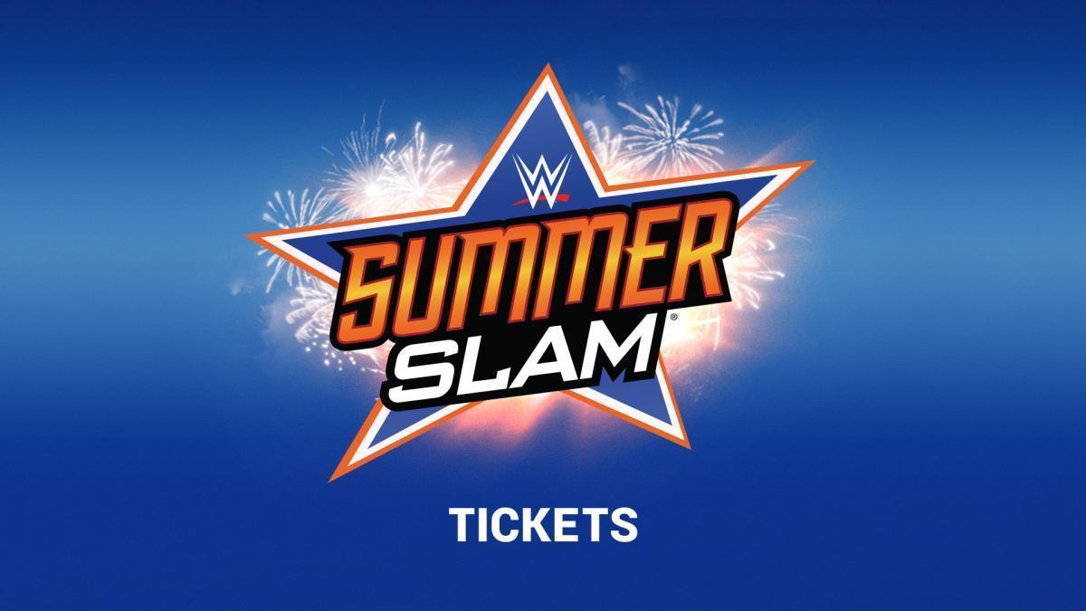 2 TICKETS WWE SUMMERSLAM IN HAND RINGSIDE SEATING BARCLAYS CENTER 8/20/2017