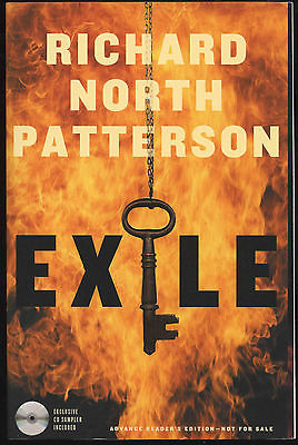 Fiction: EXILE by Richard North Patterson. 2007. ARC. CD sampler included