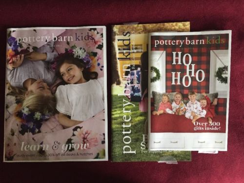 Lot Of 3 Pottery Barn Kids Catalogs 2016 And 2015