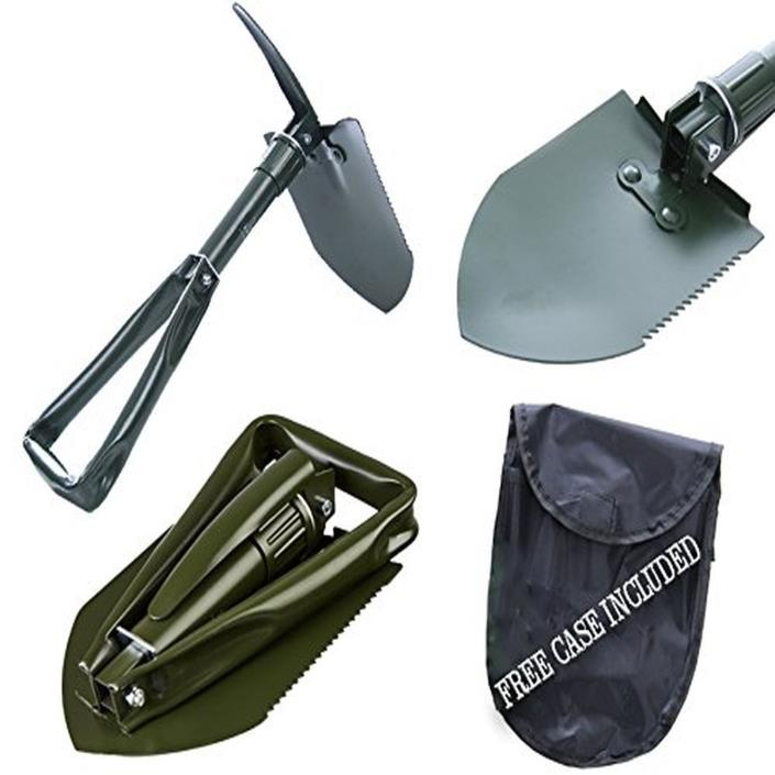 Shovel With Folding Handle Wii u- Suitable For Camping and 3ds Snow Shovels