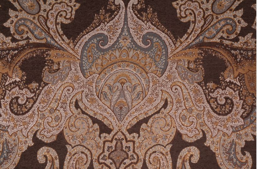 G2K MAGNIFICENT HEAVY WEIGHT  WOVEN MEDALLION UPHOLSTERY FABRIC BTY