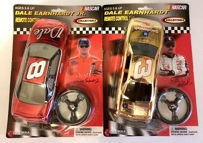 Dale Earnhardt Jr Bud watch & a Dale Earnhardt Sr and Jr remote control cars NIB