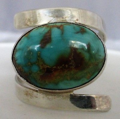 Jay King Mines Desert Rose Trading Sterling Silver Turquoise Ring