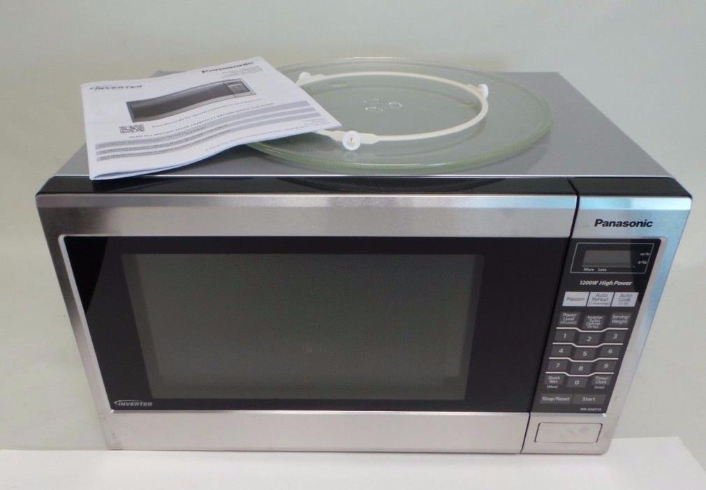 Panasonic NN-SA651S Family-Size 1.2 cu. ft. Microwave Oven Read ( in Box )