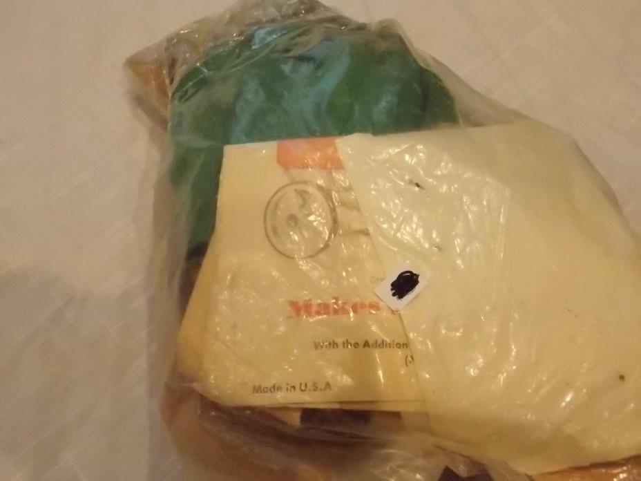 R&W Novelty #200 Wooden Covered Wagon Kit - Makes into Lamp Light Vintage Rare